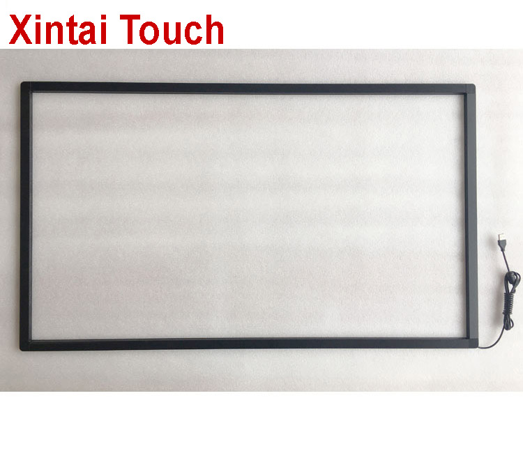 10 points 28 Infrared Touch Screen frame, 16:9 format for multi touch table, advertising, interactive wall