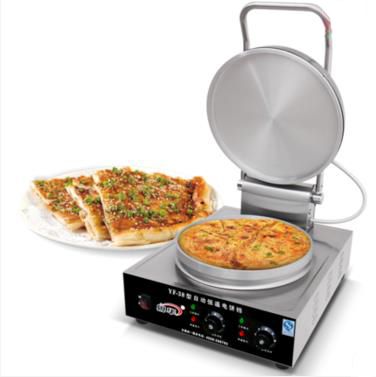Commercial Electric Pancake Machine  Electric Crepe Maker Commercial Electric Baking Pan Electric Pancake Making Machine 38 1pcs new arrival 40cm pan pancake griddle stove lpg commercial pancake machine pancake stove ship to your home