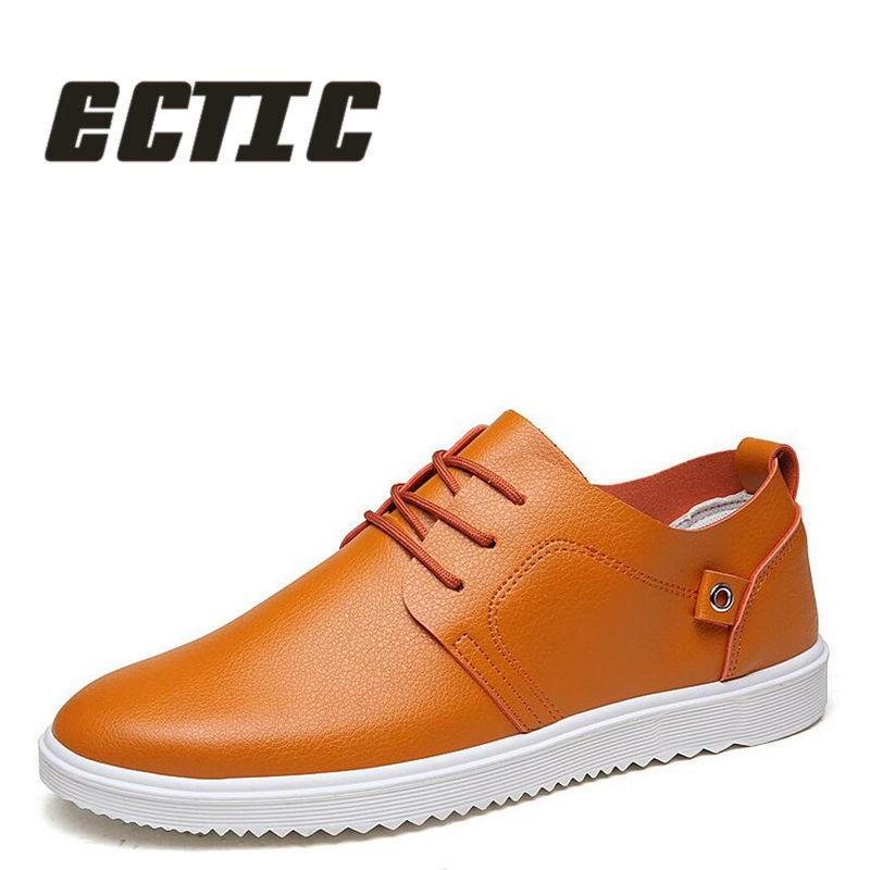 ECTIC 2018 Zapatos ocasionales de los hombres Zapatos cómodos de los - Zapatos de hombre