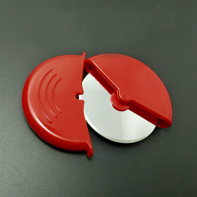 Stainless Steel Pizza Wheels Round Shape Pizza Cutter Plastic Handle Cake Bread нож для пиццы