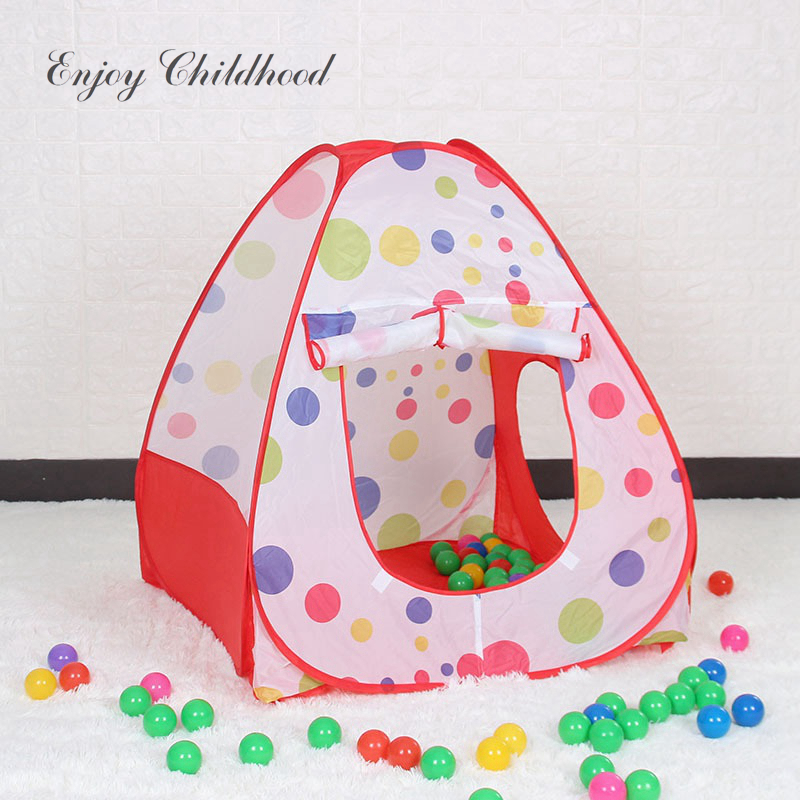 Lightaling Play House Tent Tunnel Pool-Tube-Teepee 3pcs Pop-up Baby Tents Children Kids Adventure Room Toddler Toy [FoPcc]