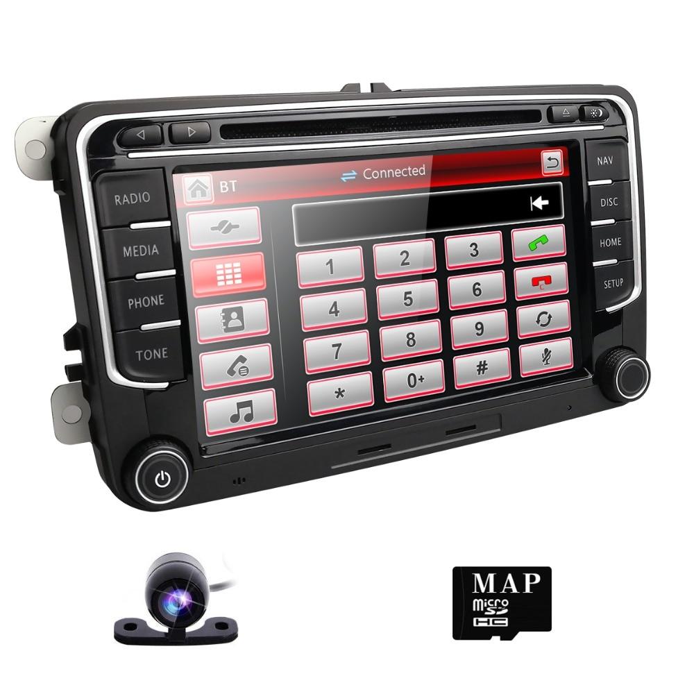 Car DVD player For V W Volkswagen Golf Polo Tiguan Passat b7 b6 SEAT leon Skoda