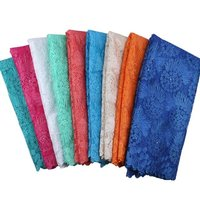 Factory Offer Latest African Cotton Lace Fabric High Quality African Swiss Voile Lace In Switzerland