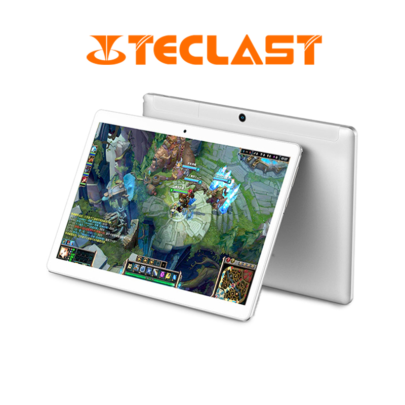<font><b>Teclast</b></font> <font><b>A10H</b></font> Quad-Core Tablet PC MTK 8163 2GB Ram 16GB Rom 10.1 inch 1280*800 IPS Android 7.0 GPS Bluetooth Dual-WiFi image