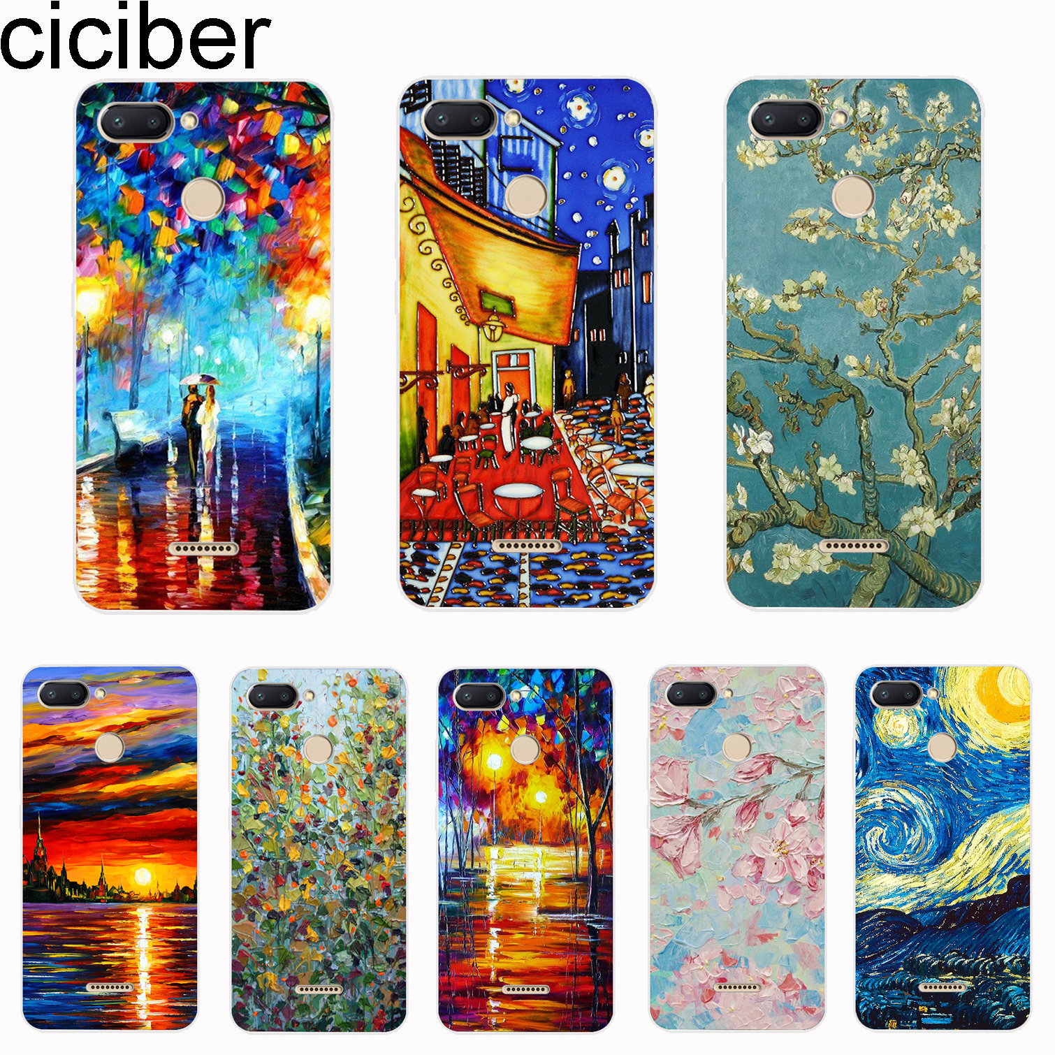 Cellphones & Telecommunications Lavaza Van Gogh Starry Sky Flower Soft Case For Galaxy Note 8 9 S7 Edge S8 S9 S10 Plus S10e M10 20 30 Cover