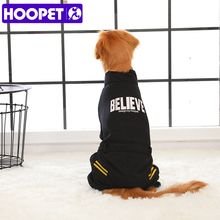 HOOPET одежда для домашних животных зимние комбинезоны для маленьких и больших собак теплая одежда для собак четыре фута свитера