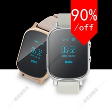 Smart Handyuhr Kind Armbanduhr Anti Verloren GPS Tracker Uhr Für Kinder SOS GSM Handy Smartwatch Für IOS Android