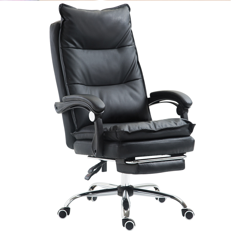 Luxury Quality Poltrona Office Esports Gaming Chair Wheel Ergonomics Synthetic Leather Can Lie Household Steel Feet Silla Gamer