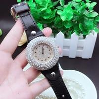 New Fashion Top Brand Casual Womens WristWatch Simple Style Full Diamond Rhinestone Female Watch Luxury Quartz Watches Horloges