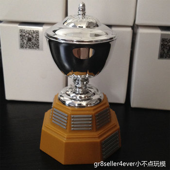 16 scale ice hockey The James Norris Memorial Trophy cup fit 12 figure trophy