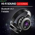 ZEALOT B19 LCD Display HiFi Bass Stereo Bluetooth Headphone Wireless Headset With Microphone,FM Radio,Micro-SD Card Slot