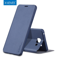 X Level Luxury High Quality Classic Flip Leather Case For Samsung Galaxy A7 A5 A3 2016