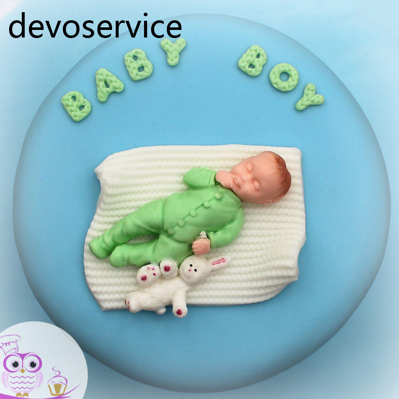 Baby Junge Madchen Puppe Bar 3d Silikon Seifenform Baby Shower Party