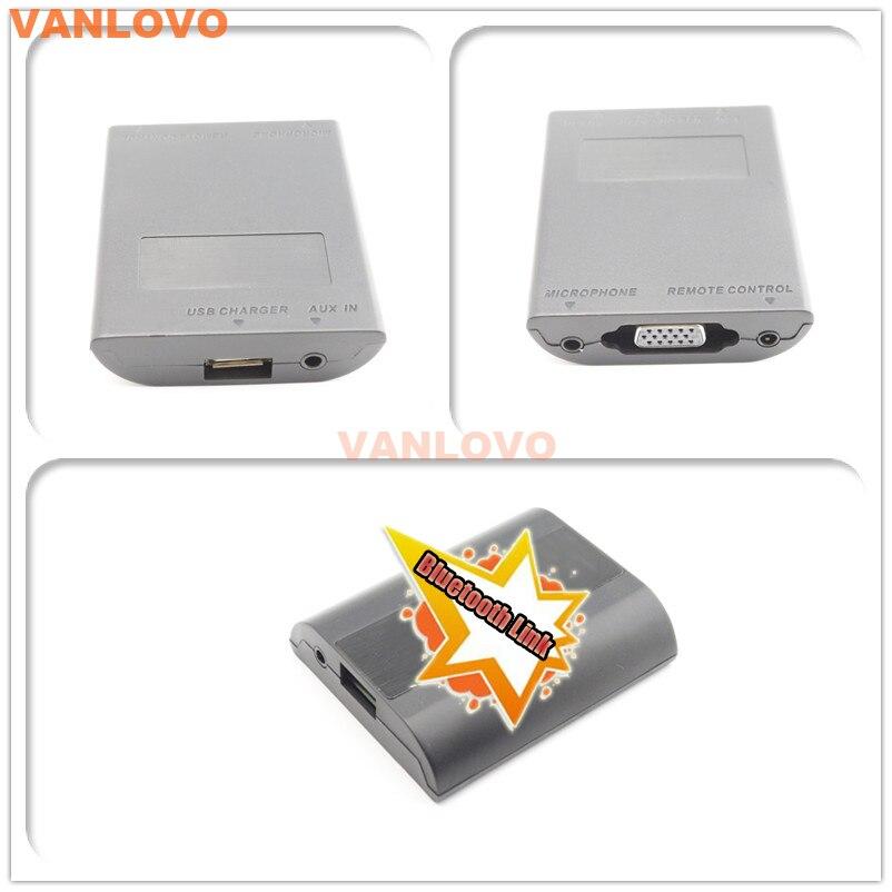 Автомобильный комплект Bluetooth Link с интерфейсом Aux in и usb зарядным устройством для Audi Concert II + Chorus II + Symphony II + RNS E - 3