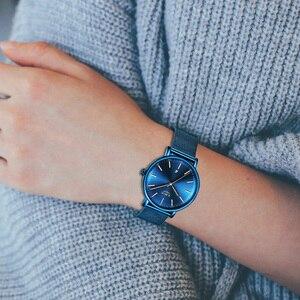 Image 5 - LIGE Womens Watches Top Brand Luxury Waterproof Watch Fashion Ladies Stainless Steel Ultra Thin Casual Wristwatch Quartz Clock