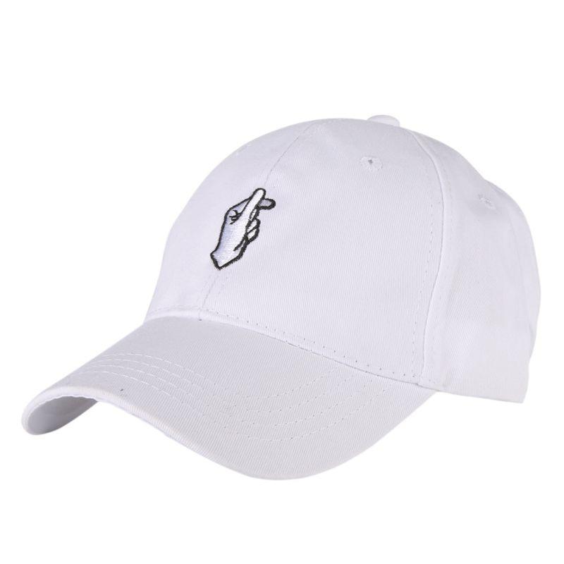 Fashion Hand Gestures Finger Snapback Hats   Baseball     Caps   For Men Women Adjustable Adult   Baseball     Cap
