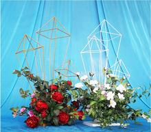 The new wedding props, iron art table flower icicles, the ceremony of decor