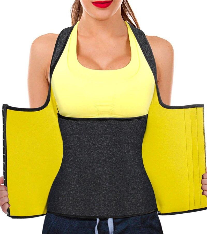 Hot Neoprene Body Shaper Slimming Waist Trainer Cincher Vest Women New,BL,4XL,Does not Apply