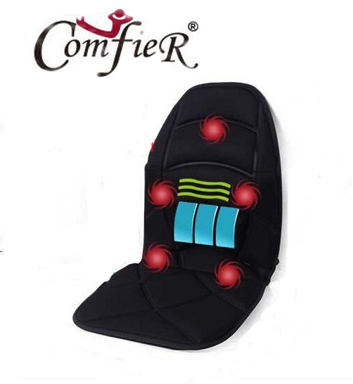 Massage Chair Cushion for Neck Shoulder Back Waist with Far Infrared Heating and Vibration Massage Heat Seat for Home Car Office chronic prostatitis treatment cushion far infrared heat plus vibration massage therapy for prostate discomfort relief