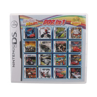 Nintendo NDS 502 In 1 Video Game Cartridge Console Card