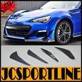 Scion FRS GT86 BRZ Auto Car accessories Carbon Fiber front splitter, Side vents apron for Toyota (Fit GT86  SCION FRS FT86 BRZ )