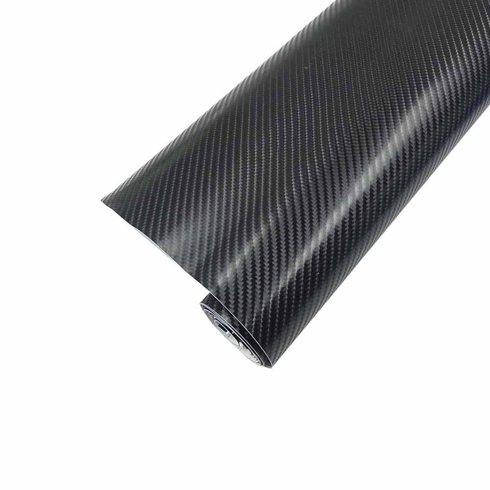 Car styling 152x200cm 4D Carbon Fiber Vinyl Film Wrapping Sheet Roll Stickers Motorcyle for Automobiles Hood Roof Accessories