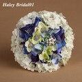 Новый стиль роскошный свадебный букет рамос novia красочные горный хрусталь букет мантия-де-mariage для свадьбы