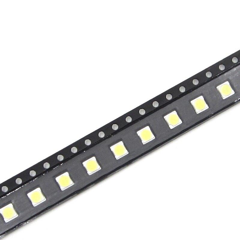 50PCS FOR LCD TV repair for LG led TV backlight strip lights with light-emitting diode 3535 SMD LED beads 6V