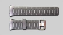Freies Verschiffen Ursprüngliche 22mm Schwarz Silikon Kautschuk armband Wasserdichte Sportuhr Band Für WristsWatch Spovan SPV709 SPV710
