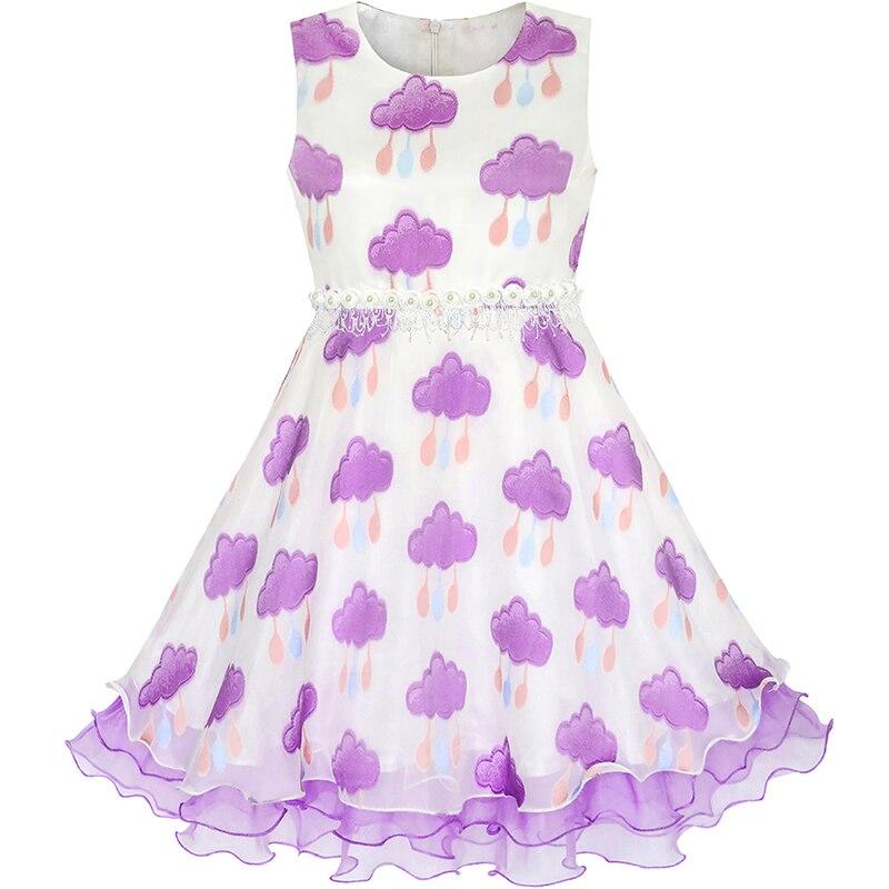 Τα κορίτσια φόρεμα νυφικό φόρεμα με - Παιδικά ενδύματα - Φωτογραφία 3