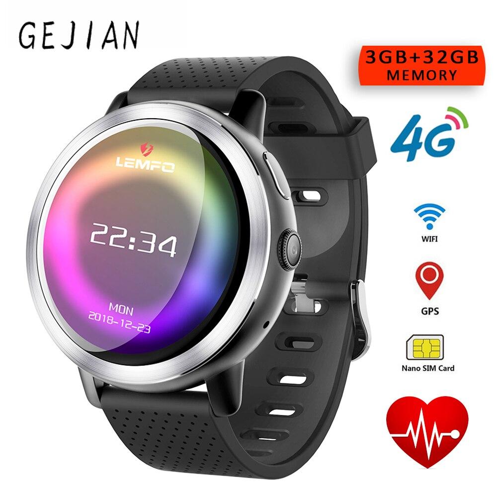 GEJIAN LEM8 Android 7.1 Smartwatch 3 GB + 32 GB double 4G 1.39