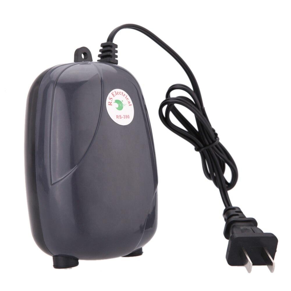 Aquarium fish tank oxygen air pump - New Aquarium Accessories Air Oxygen Pump For Fish Turtle Tank Super Silent Adjustable 5w 220v Aquatic