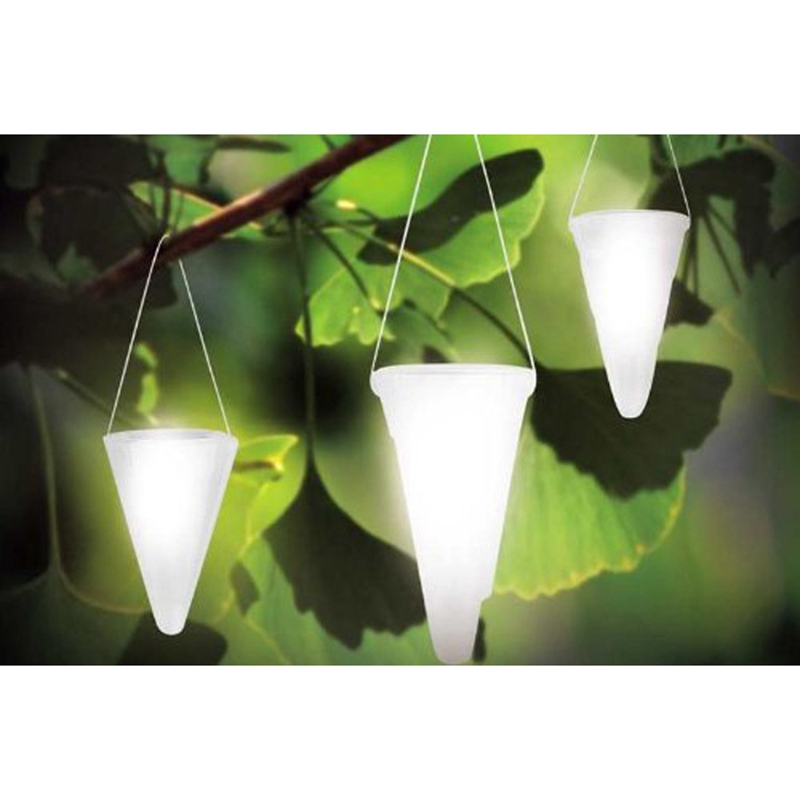 Pack Of 3 Garden Solar Lamp Lights For Outdoor Pond Landscape Decorations  Solar Powered Waterproof