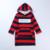 Roupa do bebê meninas 2016 nova criança do sexo feminino de inverno com veludo tarja splicing casaco de lã crianças Britânicas vento letras D18073