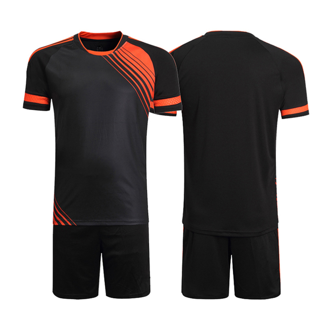 a4932377d0f Custom Team Brand Professional Soccer Uniform Men Kits Training Football  Jerseys 2018 Sets Football Shirts Uniform Clothing