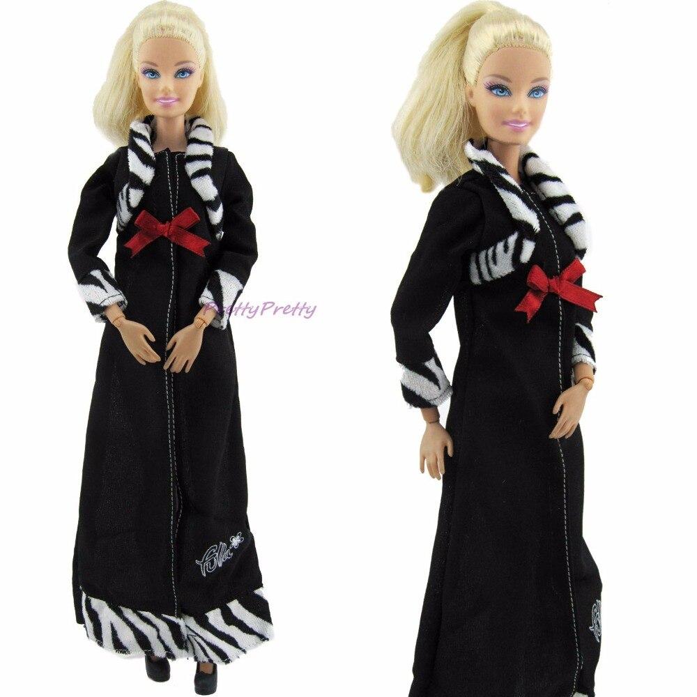 Ограниченное Edtion Платье черного цвета с темно-красный бантом Зебра в полоску платье п ...