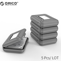 ORICO PHX 5S 5 Bay 3.5 inch Protective Box / Storage Case for Hard Drive(HDD) or SDD with Waterproof Function 5PCS/LOT