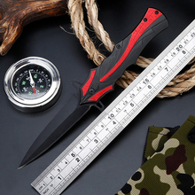 Brave Fighter Folding Knife Stainless Steel Blade  Hunting Camping Knife Survival Tool Dcbear  Pocket Knives EDC цена 2017