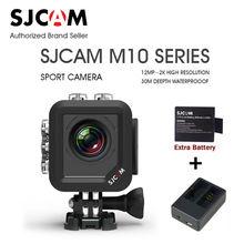 Original SJCAM M10 Serie M10/M10 WiFi/M10 + Plus 2 K Impermeable 1080 P Mini Acción Del Deporte coche de La Cámara DV Videocámara cargador de batería