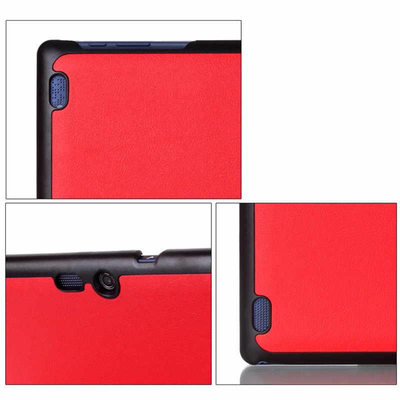 Kılıf için Lenovo Tab 2 A10 70 için PU Deri Tablet Kapak Tab2 A10-30 X30F A10-70F A10-70L Tablet kılıfı Çapa Para + Film + Stylus