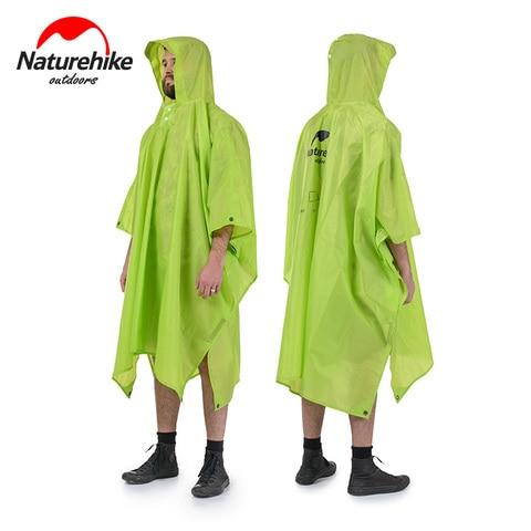 naturehike unica pessoa poncho capa de chuva