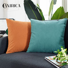 Cushion Cover Velvet Throw Pillow Cover 45*45 Throw Pillows Sofa Bedroom Decoration Pillows Home Decor Nordic Living Room soft decorative pillows pillow case square home decor velvet cushion cover for living room bedroom sofa living room decoration