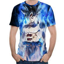 2019 Summer Dragon Ball Z T Shirt Men Fashion Men s Casual T shirt Short Sleeve