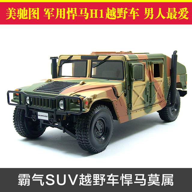 nd New MAISTO 1/18 Scale Car Model Toys USA Hummer H1 SUV ...