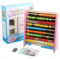 Children's intelligence development toys, small sketchpad, computational learning frame, calculate the abacus for toys