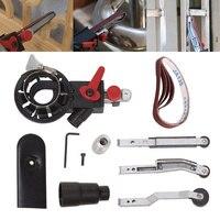Sander Machine Sanding Belt Adapter Head Convert Grinder Rivets Drill Chuck Power Tool Accessories For M10