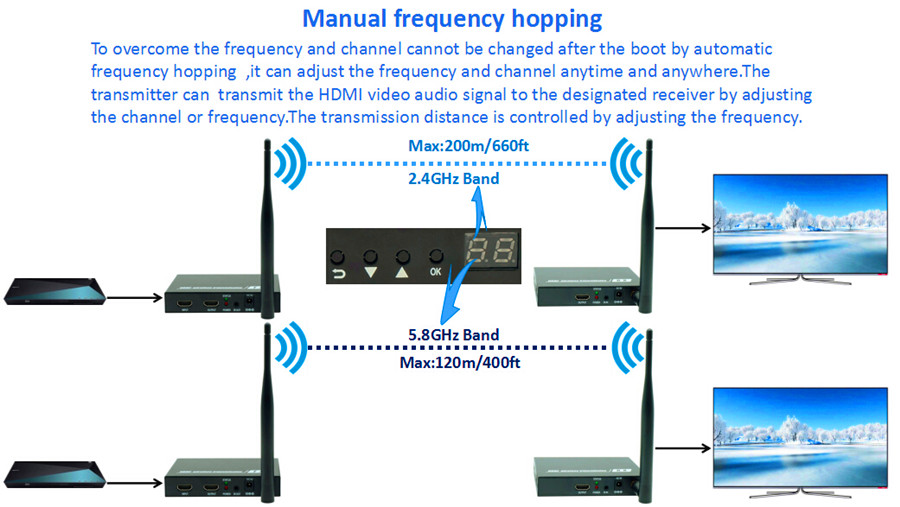 DT211W(Manual frequency hopping)