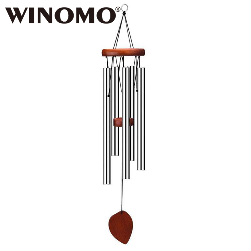 Temple Five Bells Windchime Ornaments Garden Yard Home Decor Relax Chinese