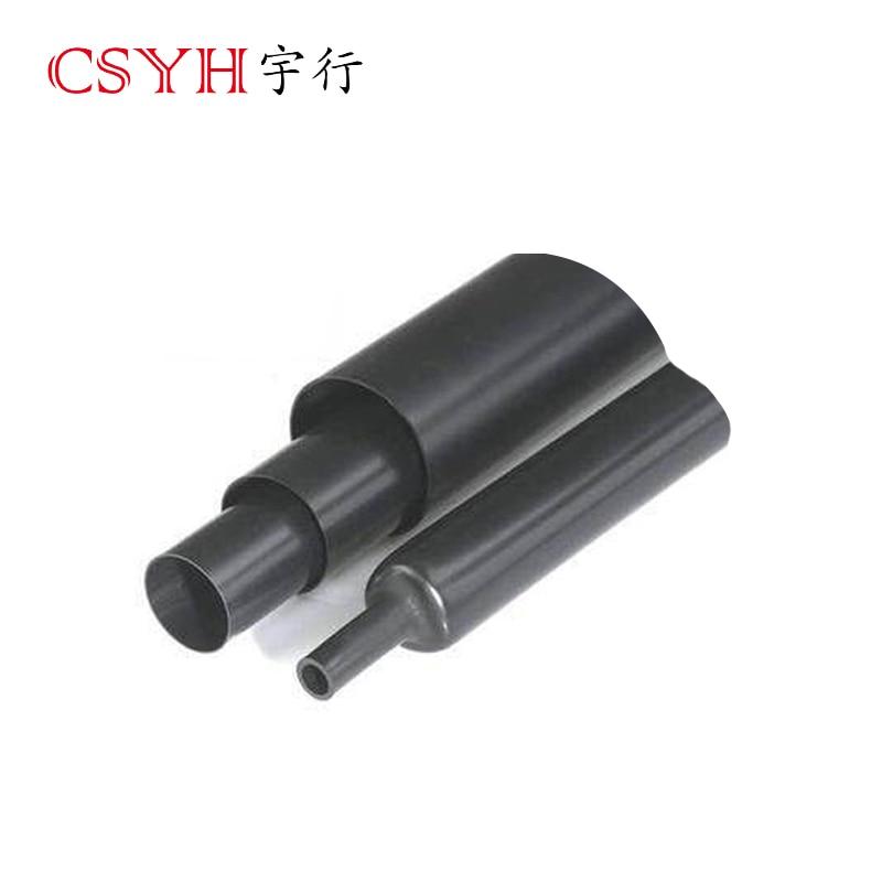 Le tube thermorétractable à double paroi de 90mm CSYH rétrécit trois fois, protection de l'environnement, retarda de flamme de 1.22 m de long chacun - 6