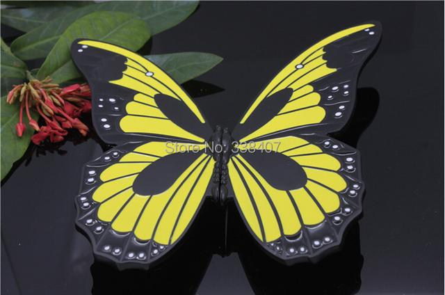 Kid quarto porta do armário lida borboleta decorativas Dresser maçanetas borboleta alças